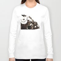 train Long Sleeve T-shirts featuring Train by SteeleCat