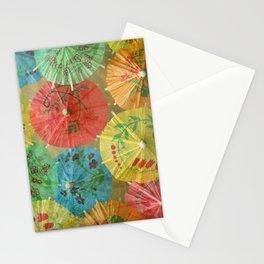 Parasols Stationery Cards