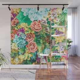 Vintage Garden #digital #nature Wall Mural