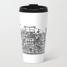 Busy City XI Metal Travel Mug