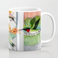 Hummingbirds and Trumpet Vines Mug