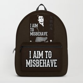 Aim to Misbehave Backpack