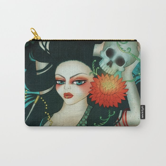 Sphynx Minx Carry-All Pouch