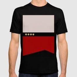 Picard -Minimalist Star Trek TNG The Next Generation  Captain Jean Luc Picard startrek Trektangles T-shirt