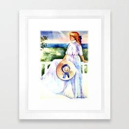 Summer Days on Cape Cod Framed Art Print