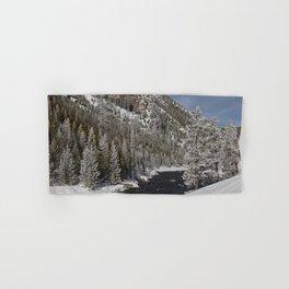 Carol Highsmith - Snow Covered Conifers Hand & Bath Towel