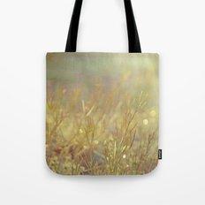 Meadow Awakening - Morning Landscape Tote Bag