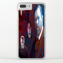 Bram Stoker Clear iPhone Case
