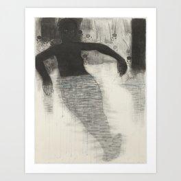 Shadow Baths Art Print