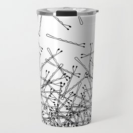 Bobby Pin Pile Up Travel Mug