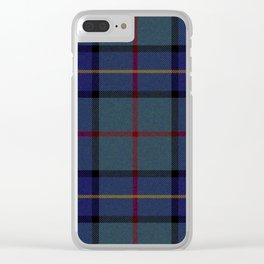 Love Tartán (7) Clear iPhone Case