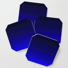 Deep Rich Sapphire Ombre Coaster