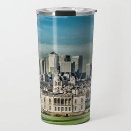 London - Canary wharf Towers Travel Mug
