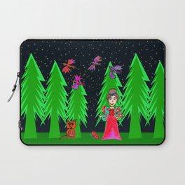 Night Fairy | Before Christmas | Kids Painting Laptop Sleeve