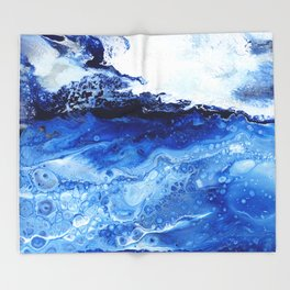 Ocean of Dreams Throw Blanket