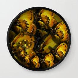 Inner Glow 4 Spiral Wall Clock