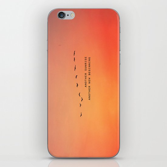Another Sunrise Another New Beginning  iPhone & iPod Skin