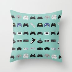 Console Evolution Throw Pillow