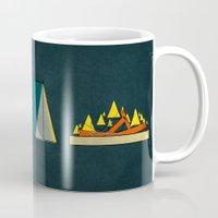 camping Mugs featuring camping by Shawn Tegtmeier