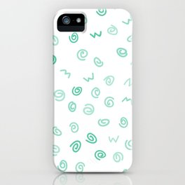 Happiness in Shapes 2 iPhone Case