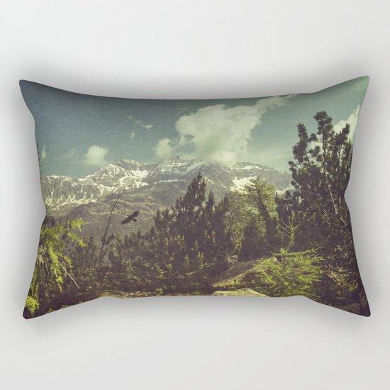 Italian Mountains Rectangular Pillow