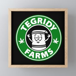 Tegridy Farms Framed Mini Art Print