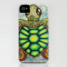 Baby Sea Turtle iPhone (4, 4s) Slim Case