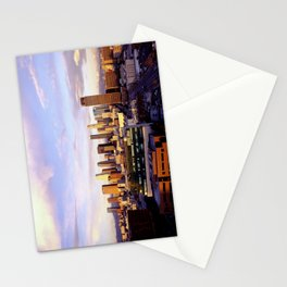 Los Angeles Skyline Sunset Stationery Cards