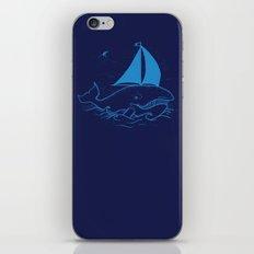 Whaleboat iPhone & iPod Skin