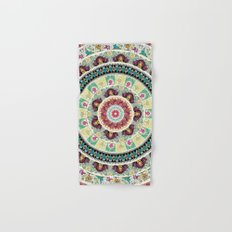 Sloth Yoga Medallion Hand & Bath Towel