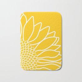 Sunflower Cheerfulness Bath Mat