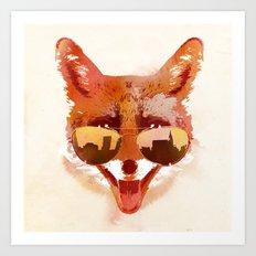 Big Town Fox Art Print