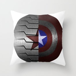 Stucky Shield Throw Pillow