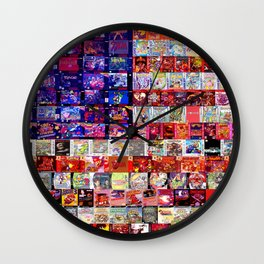 Patriot Games Wall Clock