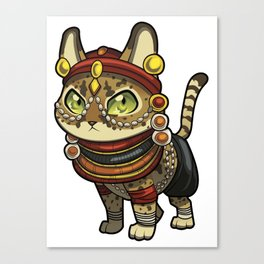 Zutari the Fierce Canvas Print