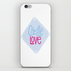 Create Love iPhone & iPod Skin