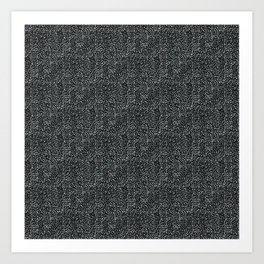 Day 070 | #margotsdailypattern Art Print