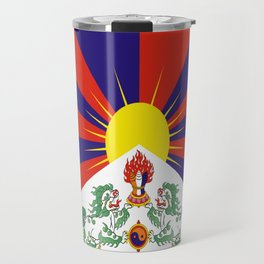 flag of Tibet Travel Mug
