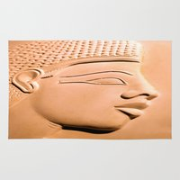 egyptian Area & Throw Rugs featuring Egyptian Beauty by Brian Raggatt