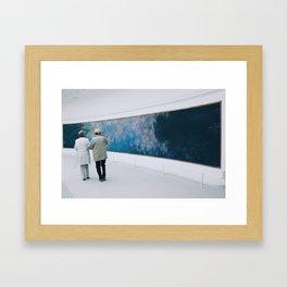 #ParisPostcards || Art-Lovers Framed Art Print
