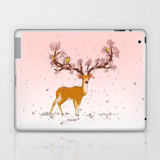 Blooming stag Laptop & iPad Skin