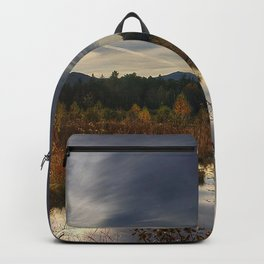 utumn lake forest nature Backpack