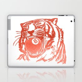 8 Ball Tiger - Red Laptop & iPad Skin