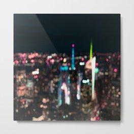 New York Manhattan Time Square Metal Print