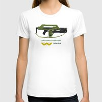 aliens T-shirts featuring Aliens M41A by avoid peril