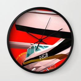 Squared: Mathias Rust Wall Clock