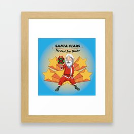 Santa Claus - the first Joy Bender Framed Art Print