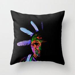 Future Toxic Throw Pillow