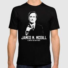 JAMES M. MCGILL T-shirt