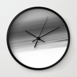 Gray Smooth Ombre Wall Clock